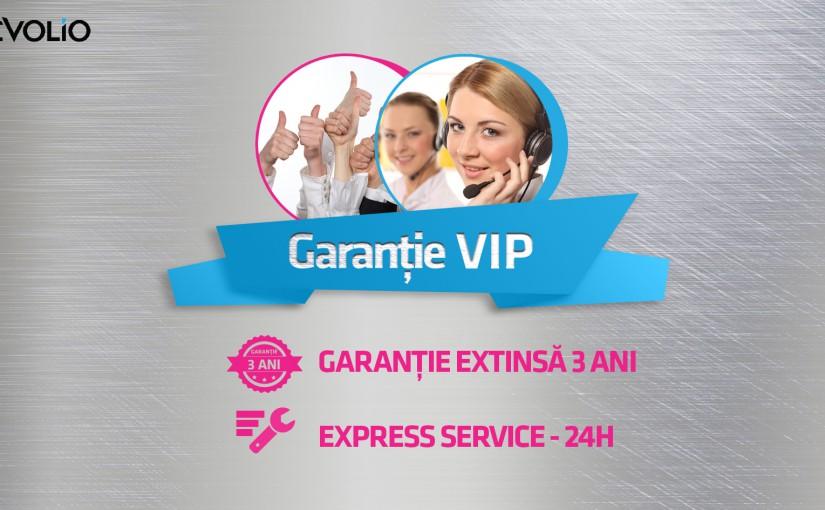 Evolio lansează Garanția VIP -un nou pachet de avantaje excelente pentru clienții săi