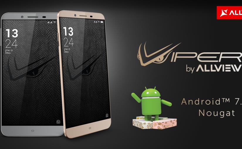 V2 Viper S va primi update la Android™ 7.0, Nougat în prima jumătate a acestui an