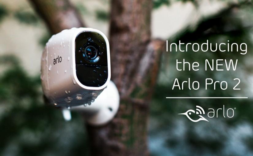 NETGEAR lansează ARLO PRO 2, o cameră de supraveghere intuitivă echipată cu rezoluţie 1080p HD