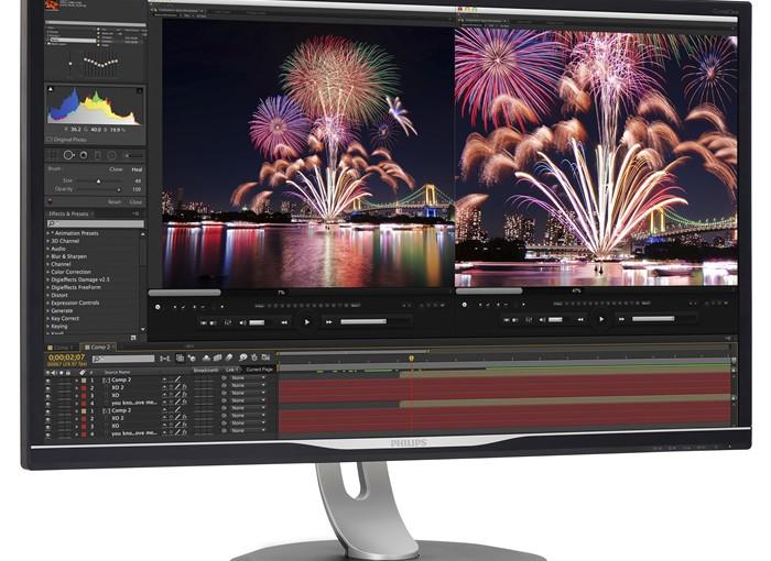 Noul monitor Philips Adobe RGB, creat pentru fotografi și graphic designers