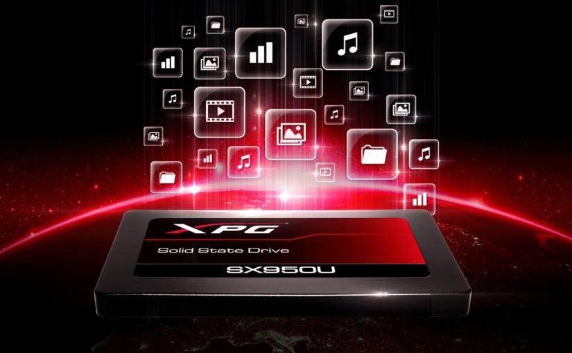 ADATA XPG lanseaza SSD-ul de gaming 3D NAND SX950U