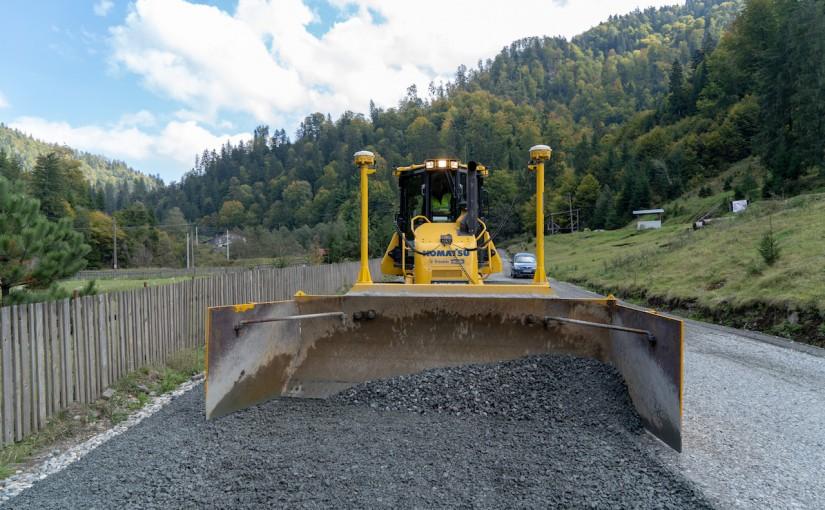 Primul sistem Trimble Earthworks 3D  instalat in Romania