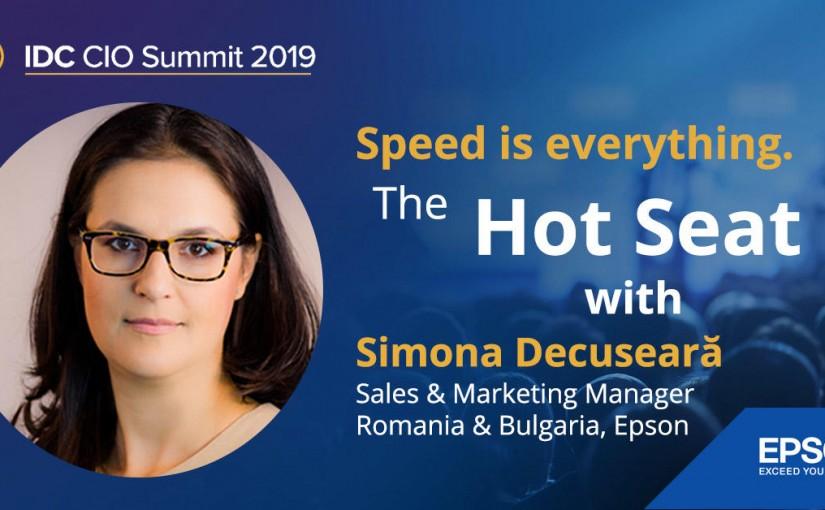 Epson prezintă noile tehnologii pentru business la CIO Summit 2019, cea mai importantă conferință despre mediul digital și afaceri