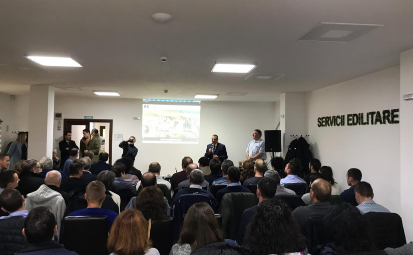 Iridex Group Plastic participa la vizita tehnica la instalatia de compostare a namolurilor de la Mioveni